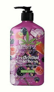 New Hempz Fresh Orchid And Wild Berry 17oz