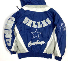 Lee / Dallas Cowboys Mens M Vintage 90s Hooded Jacket Coat Pullover NFL Retro