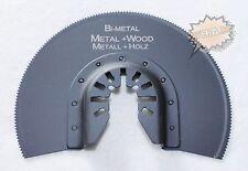 Segment Sägeblatt Holz Metall 87mm Zubehör f Fein Dewalt Bosch Worx Schnellspann