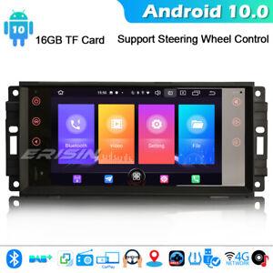 Android 10 GPS Car Stereo Radio Jeep Compass Dodge Chrysler Patriot  SWC CarPlay
