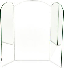 Plymor Arched 5mm Beveled Mirror Backdrop, 11 inch H (Pack of 3)