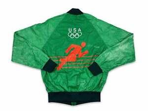 Vintage Levi's Olympic Windbreaker 80s Tyvek Jacket 1980 Moscow Faded V14