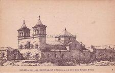 ARGENTINA - Cordoba - Iglesia de los Jesuitas, al fin del siglo XVIII 1926