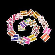Set 50 pcs Decal Water Transfer Manicure Nail Art Stickers DIY Tips Decor GV