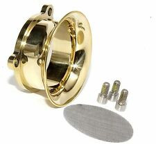 Velocity Stack Short Solid Brass fits E G Carb S&S