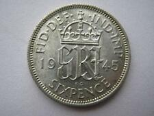 1945 silver Sixpence, A UNC.
