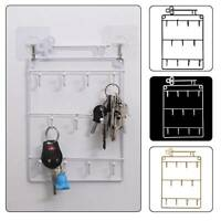 Door Back Key Holder Storage Rack Organizer Wall Mounted Hanging Hanger Hooks