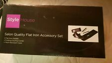 Style House Salon Quality Flat Iron Accessory Set, Free Shipping!