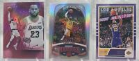 LOT OF 3 LeBron James 2020 Panini Chronicles Pink Essentials Marquee Classics