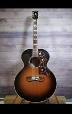 2004 Gibson Montana J 185 Acoustic Guitar With Hard Case Great Condition