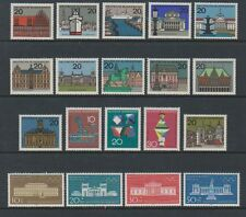 Germany (West) - 1964 Capitals, 1968 Scientific & 1970 Olympic sets - MNH