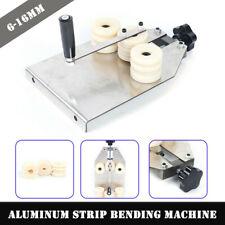 Manual Aluminum Bar Bending Machine 6-16mm Hollow Aluminum Strip Bender & 2 Mold