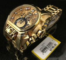 @NEW Invicta Men's 52mm Reserve Magnum Gold Tone Chronograph Dual Time 25210