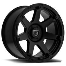 "Gear Alloy 753SB Barricade 17x9 8x6.5"" +18mm Satin Black Wheel Rim 17"" Inch"