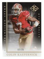 2014 Limited Gold Spotlight #84 Colin Kaepernick 03/25 San Francisco 49ers