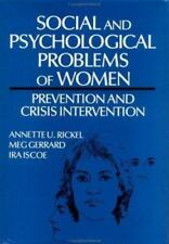 Social and Psychological Problems of Women: Prevention and Crisis-ExLibrary