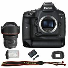 Canon EOS 1DX mark II DSLR Camera Body with EF 11-24mm f/4L USM Lens