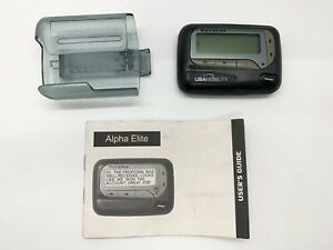 USA Mobility Alpha Elite Unication Pager With Holster and Owners Manual