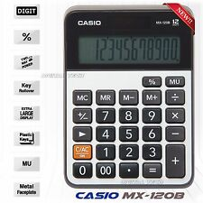 Casio MX-120B Calculator MX120B 12 Digit Two Way Solar Battery - Large Display