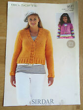 Sirdar Big Softie - Pattern No. 9531 - Cardigans - Easy Knit