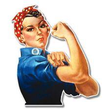 Rosie the Riveter Car Laptop Phone Vinyl Sticker  - SELECT SIZE