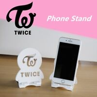 Kpop TWICE GOT7 WANNA ONE Wood Portable Mobile Phone Tablet Stand Holder Bracket