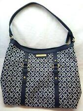 "Tommy Hilfiger-Womens Purse Handbag, Navy Blue, Hilfiger Logo Purse, 10"" Deep"