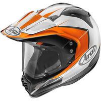 ARAI XD-4 Flare Orange Adventure Touring Motorcycle Helmet Dual Sport