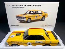 AUTOart 1:18 Ford XY Falcon GTHO 1972 Shell Racing Team Norm Beechey #4 COA NEW