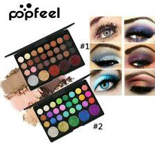 Palette maquillage fard/ombre à paupières POPFEEL 29 couleurs pailletée/mate