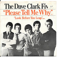 DAVE CLARK FIVE Please Tell Me Why on Epic '60s rock 45 with picture sleeve