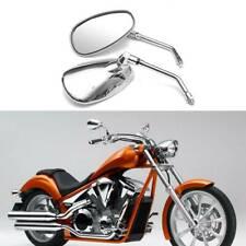 For Honda Shadow Spirit 750 1100 Vtx1300 Vtx1800 Chrome Motorcycle Side Mirrors