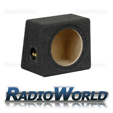 "8"" MDF Sub Box Subwoofer Enclosure Bass Empty Enclosure anthracite grey carpet"