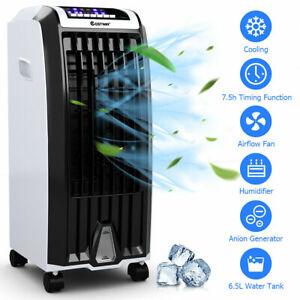 Costway Evaporative Portable Air Cooler Fan Anion Humidify W/ Remote Control A22