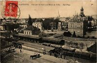 CPA   Maisons-Laffitte - Vue sur la Gare et l'Hotel de Ville   (359588)