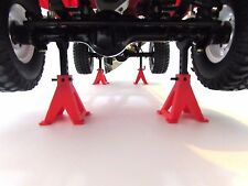 4 pcs 1/10 Scale STAND JACK for rc crawler truck Axial Traxxes Rc4wd accessories