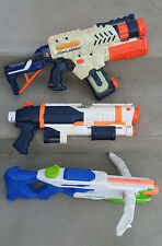 NERF SUPER SOAKER LOT TORNADO STRIKE SHOT BLAST TRI STRIKE CROSSBOW Water Guns
