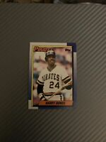 1990 Topps Barry Bonds Pittsburgh Pirates #220 Baseball Card