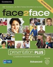 face2face Advanced Presentation Plus by Jan Bell, Theresa Clementson DVD-ROM NEW
