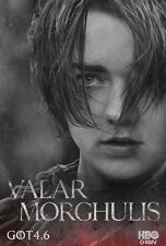 POSTER IL TRONO DI SPADE GAME OF THRONES SEASON 4 ARYA STARK GEORGE R MARTIN #52