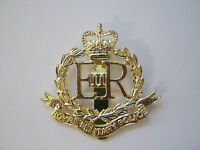 Royal Military Police (RMP) Beret Cap Badge  British Military - Brass Base Metal