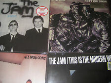 THE JAM SETTING SONS MODERN WORLD - IN CITY - MOD CONS FACTORY SEALED 4 LP SET