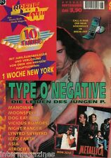 Magazin Break Out 6/1996,Type 0 Negative,Manowar,Metallica,Iced Earth,Dog Eat Do