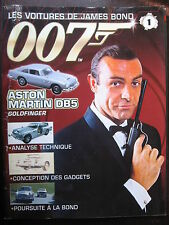 FASCICULE 1 JAMES BOND 007 POSTER ASTON MARTIN DB5 GOLDFINGER