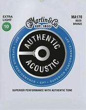 Martin Acoustic Guitar Strings 10-47 MA170 80/20 Bronze €8
