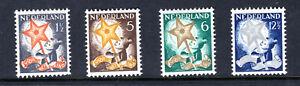 1933 NETHERLANDS, SEMI-POSTAL Scott # B66-B69, Mint MLHR, OG, VF