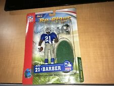 "Tiki Barber New York Giants gracelyntoys 5"" Re-Plays Action Figure MIP"