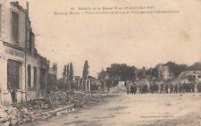 CPA GUERRE 14-18 WW1 MEUSE REVIGNY place et rue de vitry boucherie écrite 1914