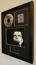 Joy Division-Unknown Pleasures-Framed Original CD- Plaque-Certificate-Ian Curtis