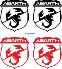 2 Abarth Aufkleber Fiat Abarth 595, 124 Spider, Punto, Stilo , Fiat 500